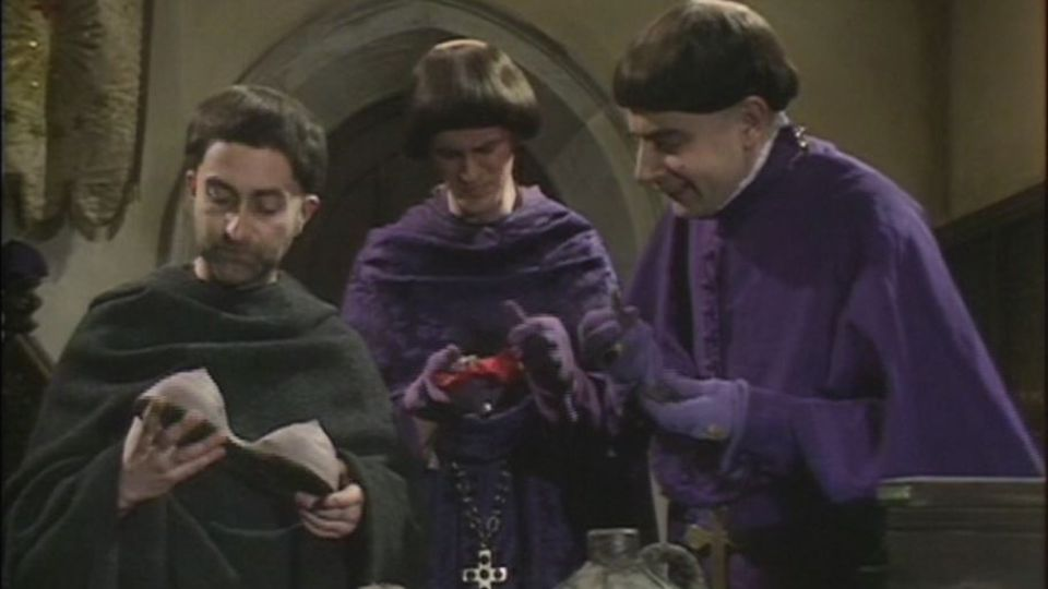 full script for blackadder series 1 episode 3