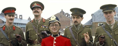 Blackadder Series 4 - Blackadder Goes Forth Cast Photo