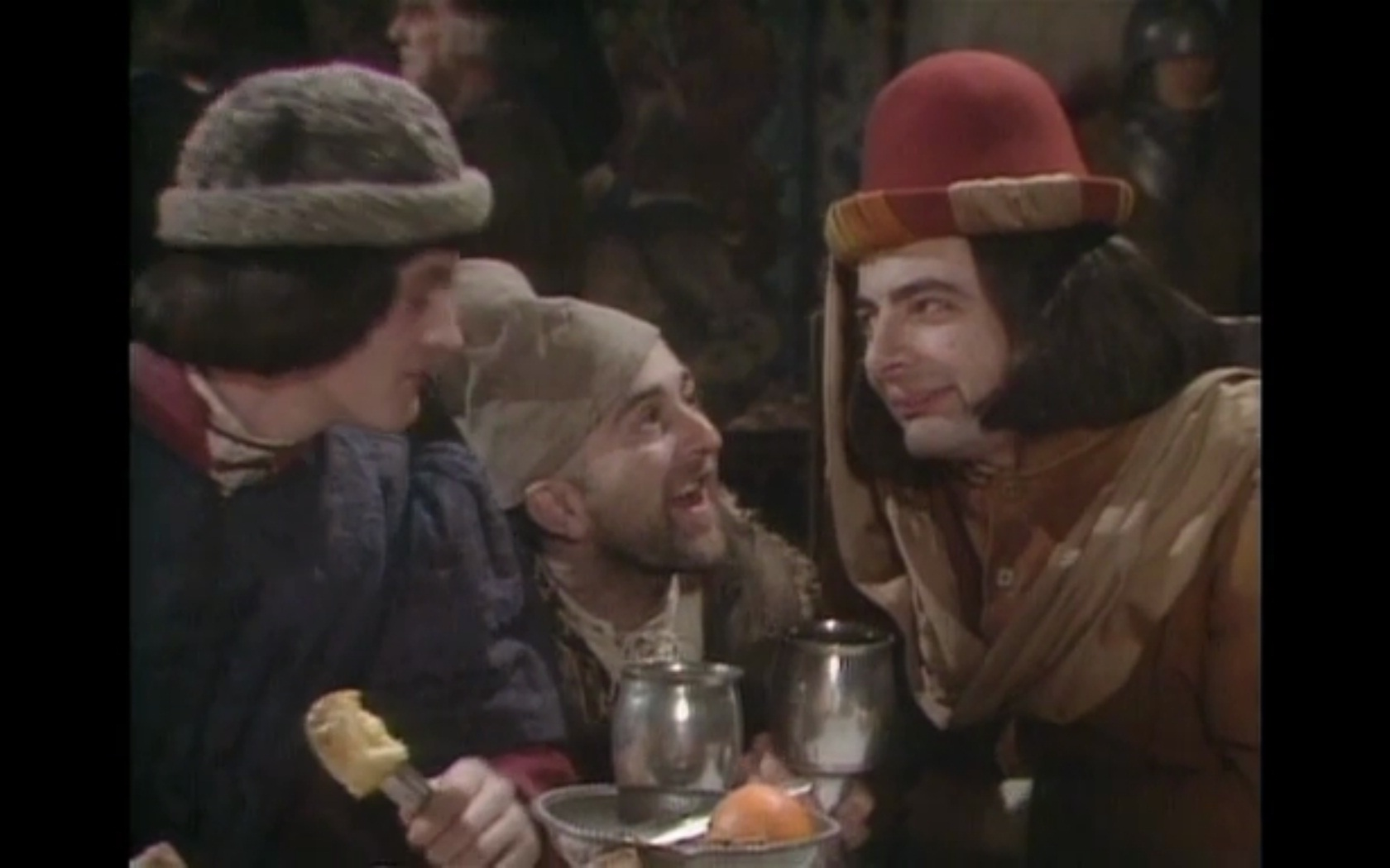 Blackadder Series 1 - this series of Blackadder is very different from the others, mainly because the characters of Baldrick and Blackadder appear to be reversed.