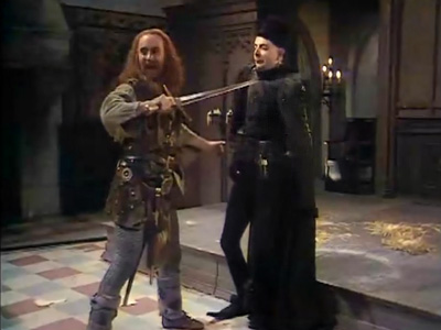 full script for blackadder series 1 episode 2 born to be king