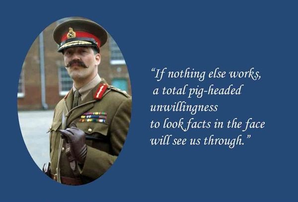 General Melchett Blackadder Quotes
