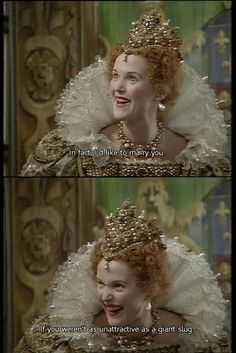 Giant slug Queenie quote