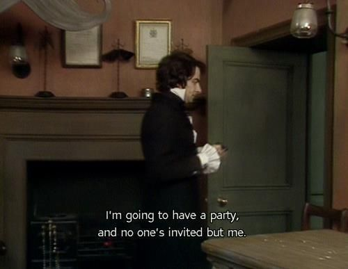 I'm going to have a party,