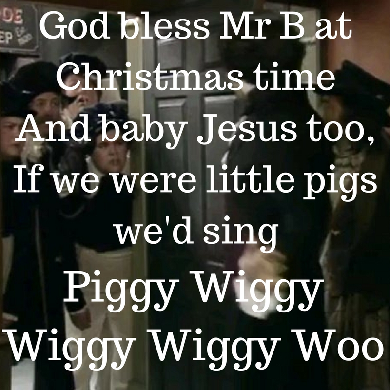 Blackadder piggy wiggy woo