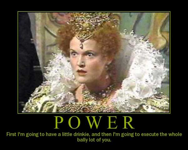 Blackadder Quotes - One of the best Queenie quotes from Blackadder series 2
