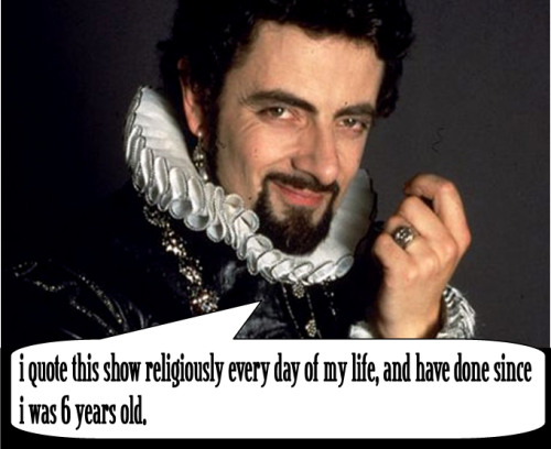 Some fun Blackadder trivia