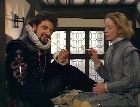 Blackadder falls in love with Bob