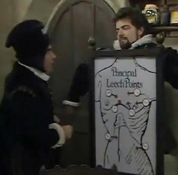 Blackadder - a course of leeches