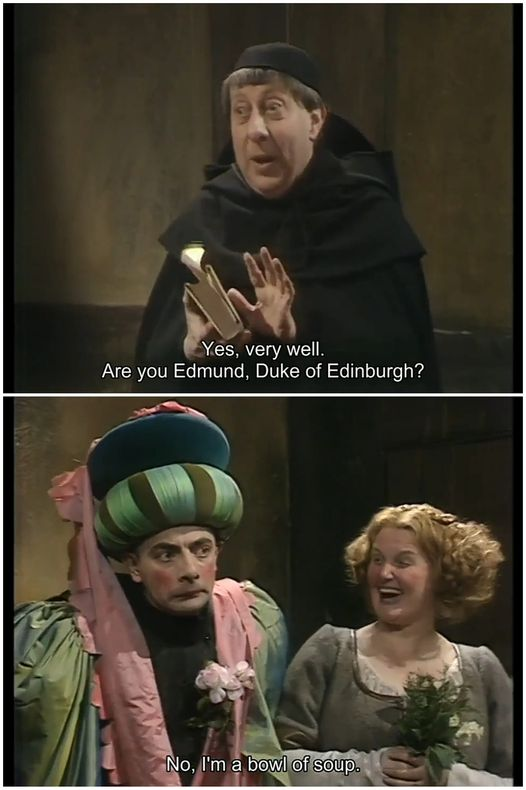 Blackadder Quote from First Series