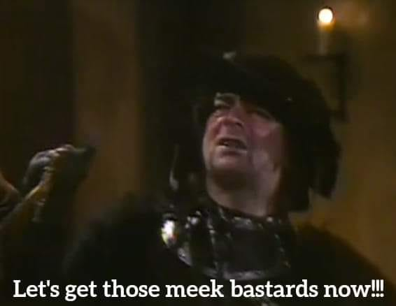 Meel bastards Blackadder