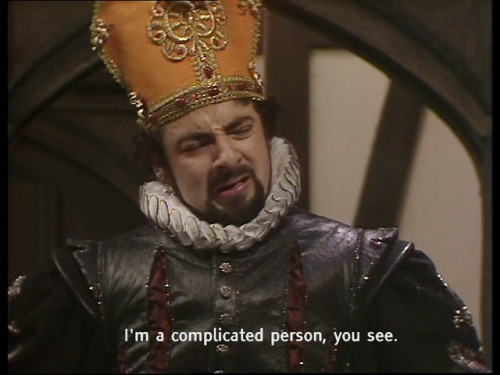 Blackadder Beer Complicated Person