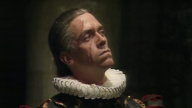 Prince Ludwig from Blackadder Series 2 Episode 6 Chains