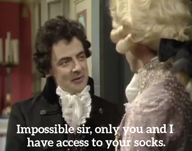 Blackadder Socks