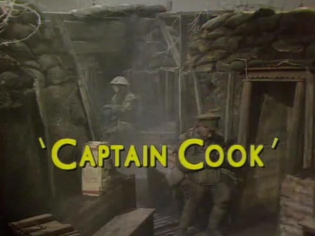 Blackadder episode Captain Cook