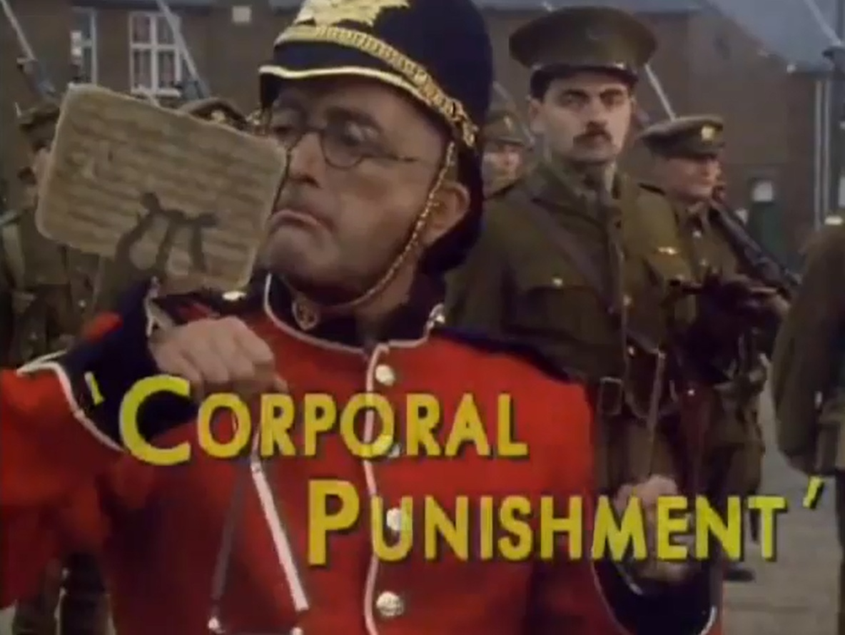 Blackadder Series 4 Episode 2 Corporal Punishment