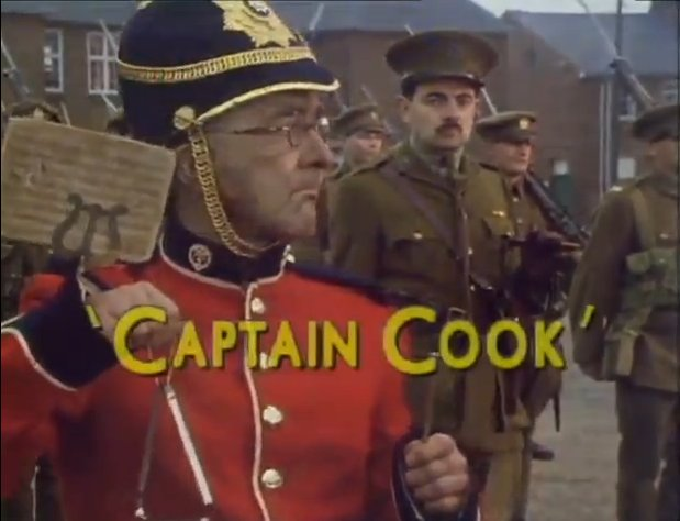 Blackadder Series 4 Episode 1 Captain Cook