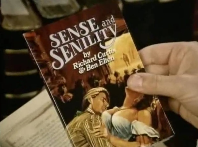 Sense and Senility episode Blackadder
