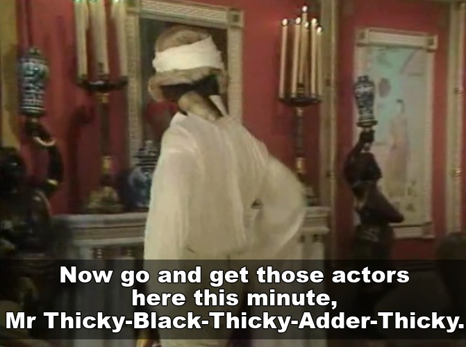 Mr Thicky Black Thicky Adder Thicky