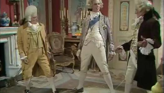 Blackadder series 3 episode 4 sense and senility