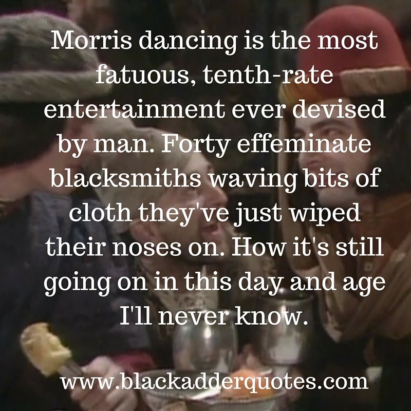 The best Blackadder quotes from series one