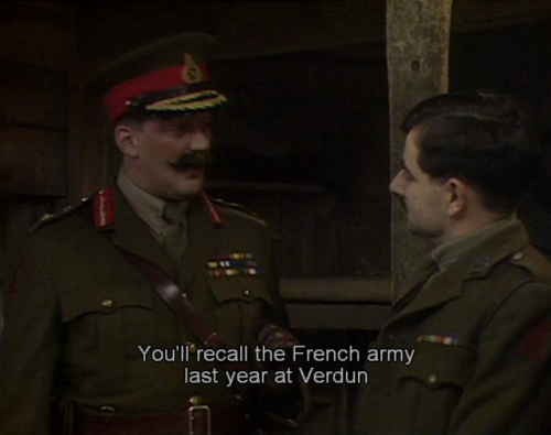 Blackadder Major Star episode