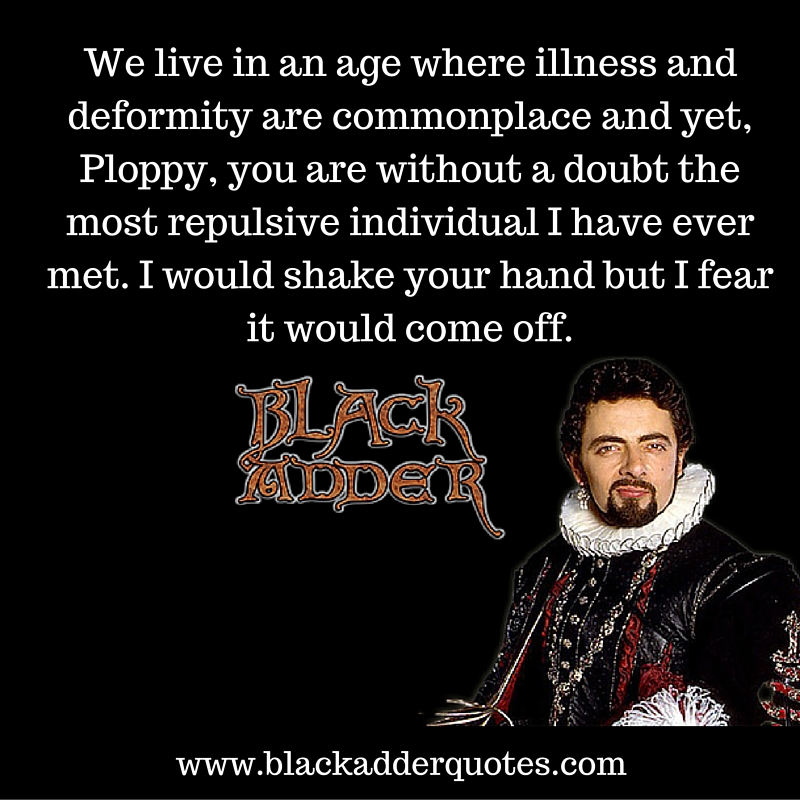 Funny Blackadder quotes from series 2