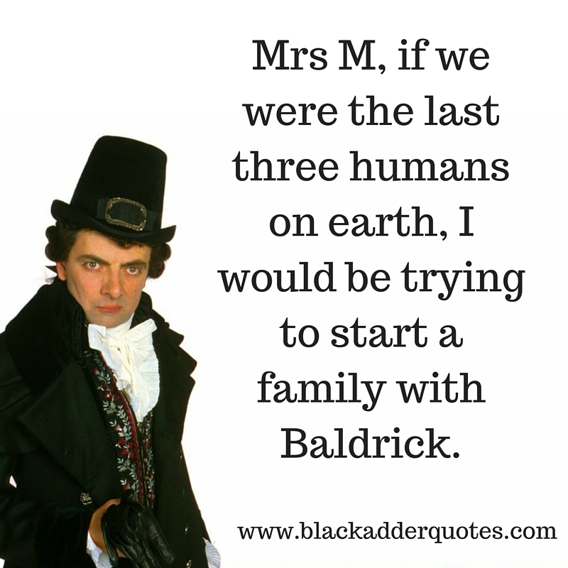 The funniest Blackadder quotes from the third series found online