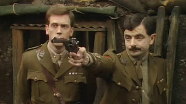 Blackadder shoots speckled Jim