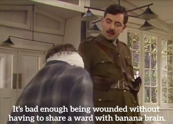 Blackadder and Smith a German Spy