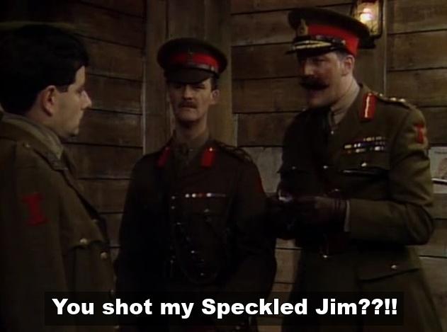 Speckled Jim Blackadder