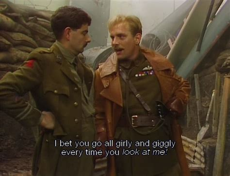 Blackadder Private Plane with Rik Mayall