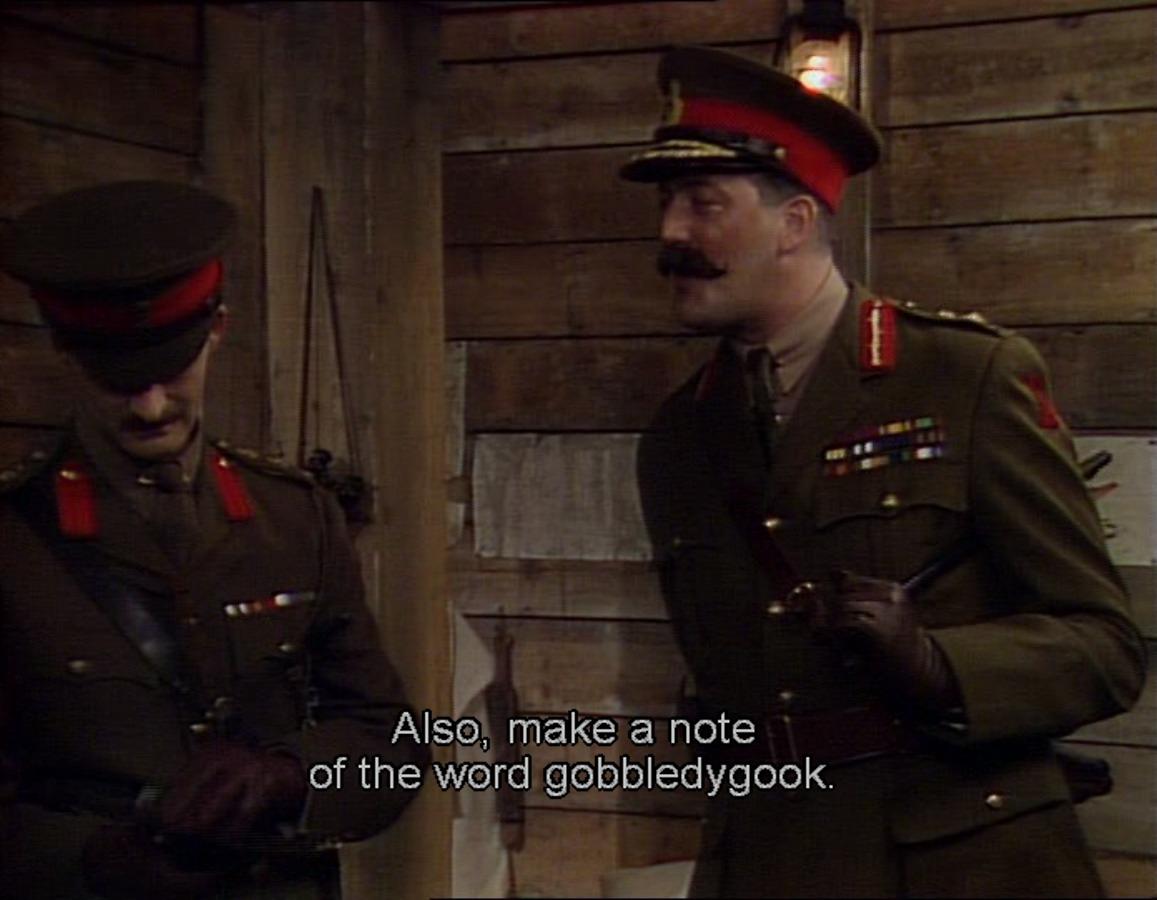 General Melchet Gobbledygook