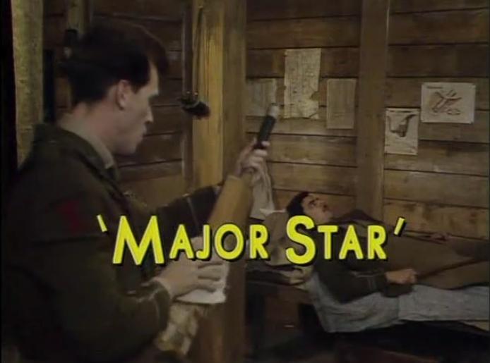 Blackadder Major Star - Blackadder Goes Forth