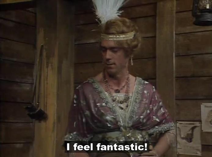 George (Hugh Laurie) - I feel fantastic