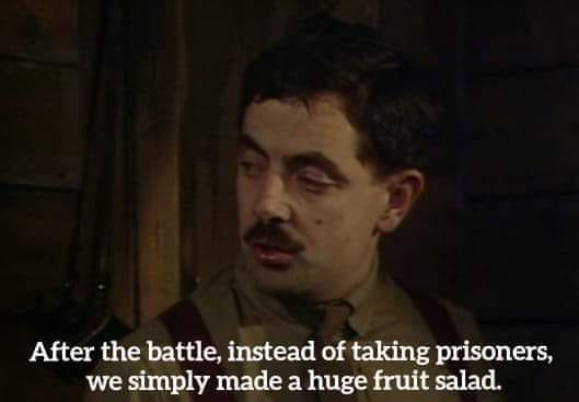 Blackadder fruit salad