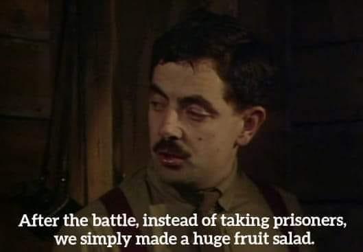Blackadder fruit salad