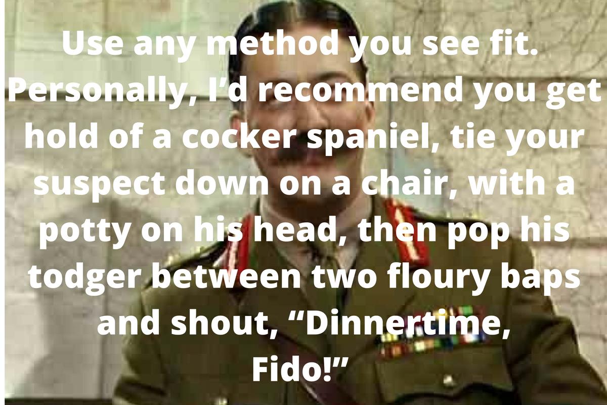 Dinnertime Fido