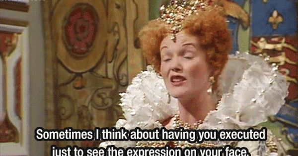 Queenie from Blackadder