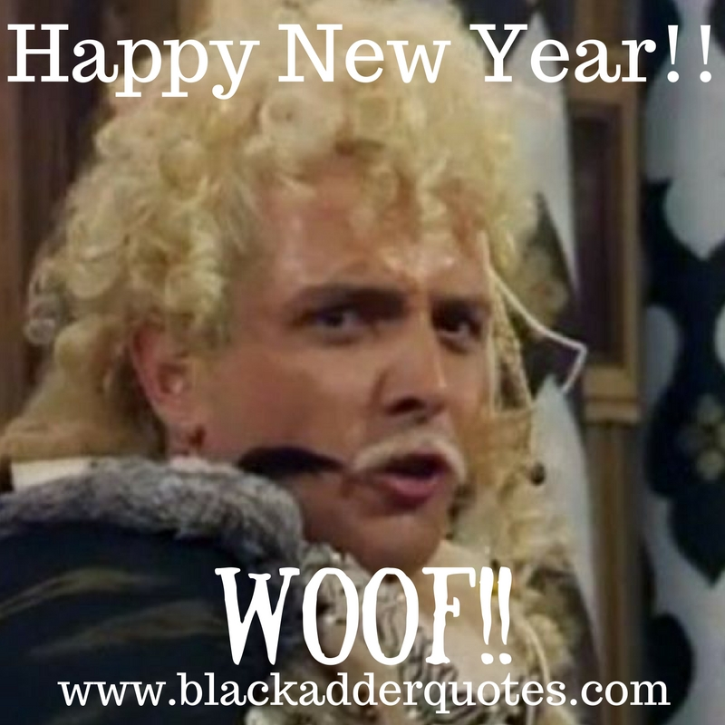 Wishing you all a Happy New year 2017 - Woof!