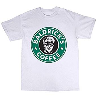 Baldrick's Coffee T-Shirt – Funny Blackadder T-Shirt Like Starbucks