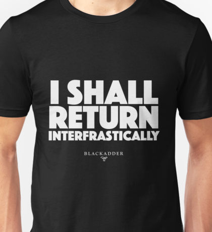 I shall return interfrastically