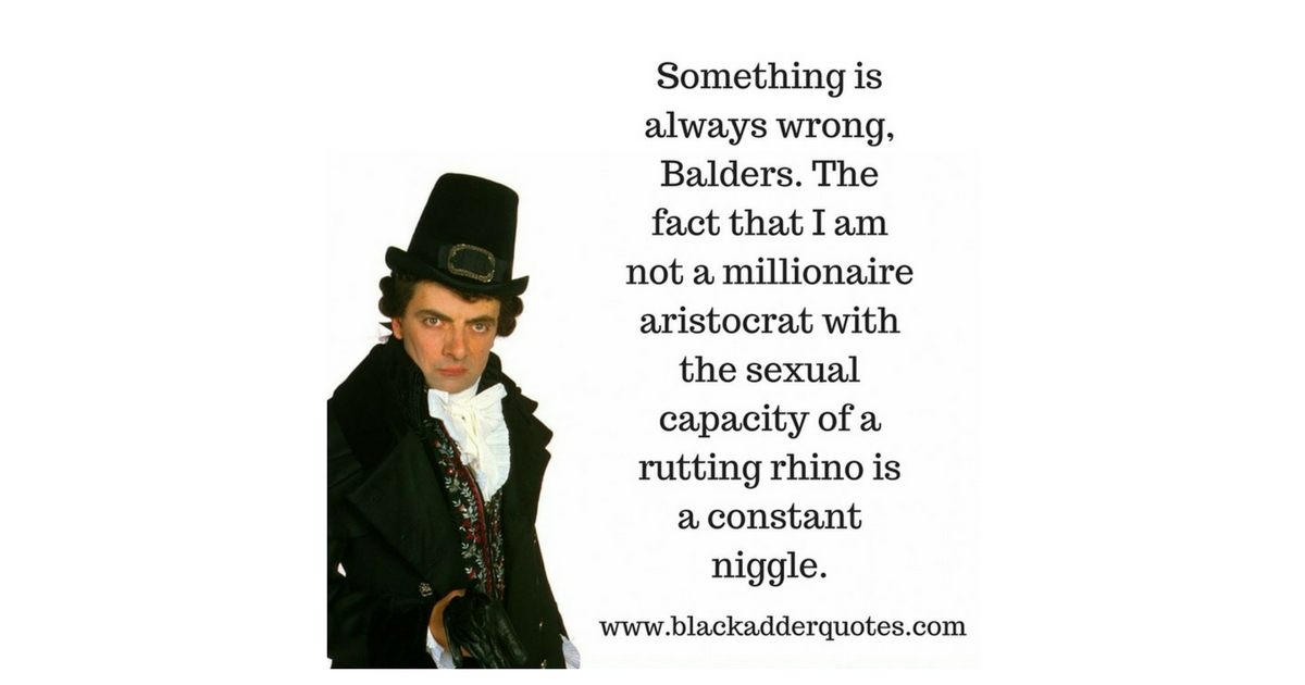 Something is always wrong