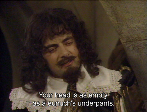 Blackadder: The Cavalier Years – Full Episode, Quotes, and Script