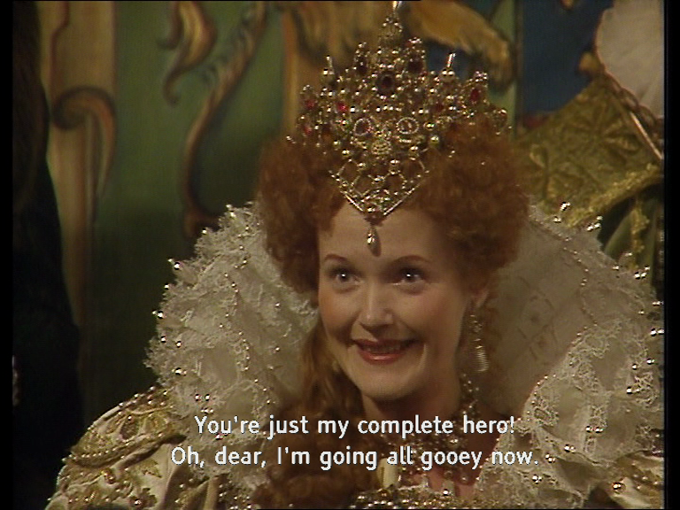 Gooey Queen Elisabeth Blackadder quote