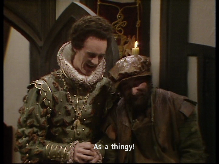Turnip thingy quote from Blackadder series 2