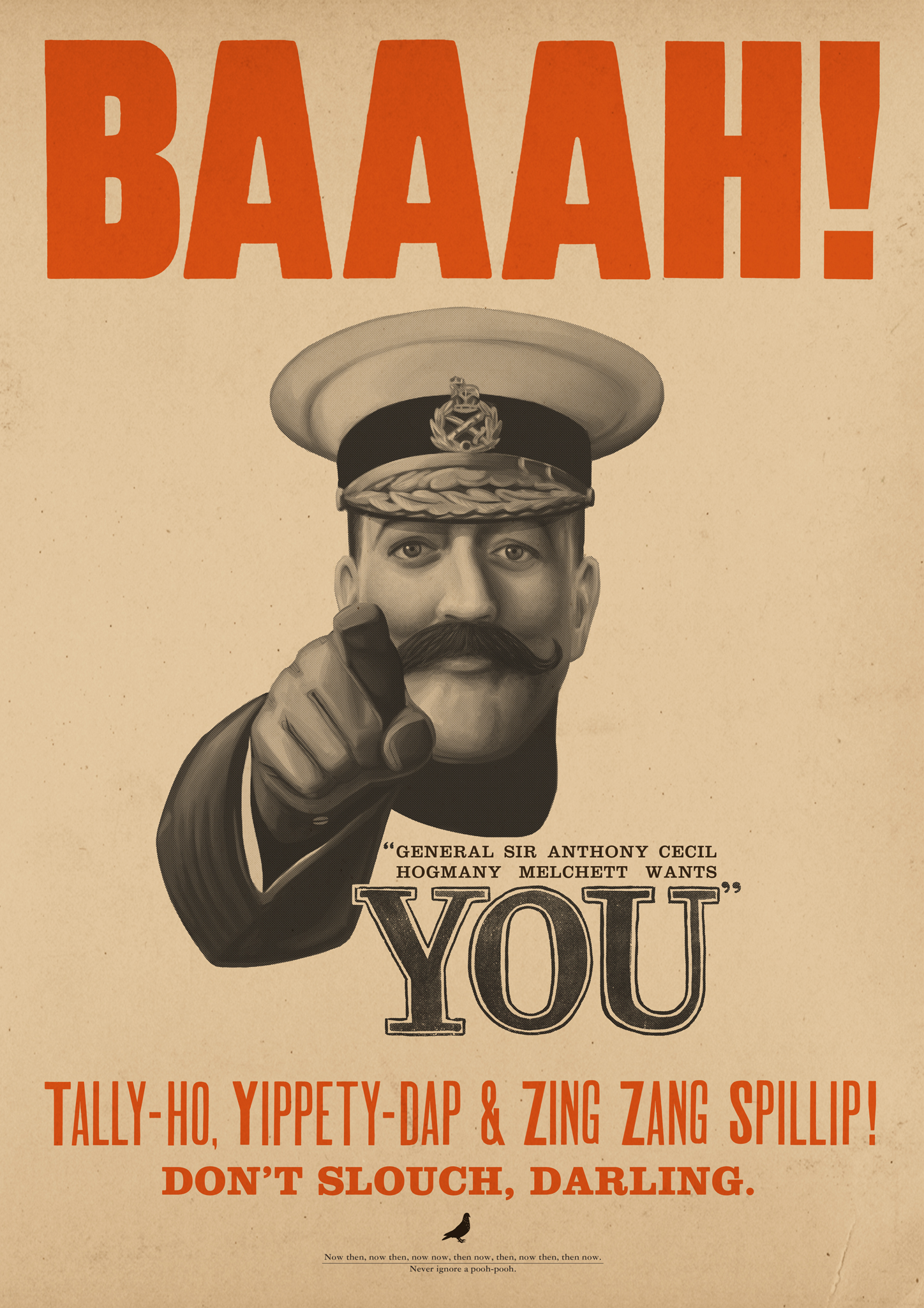 General Melchett Wants You!