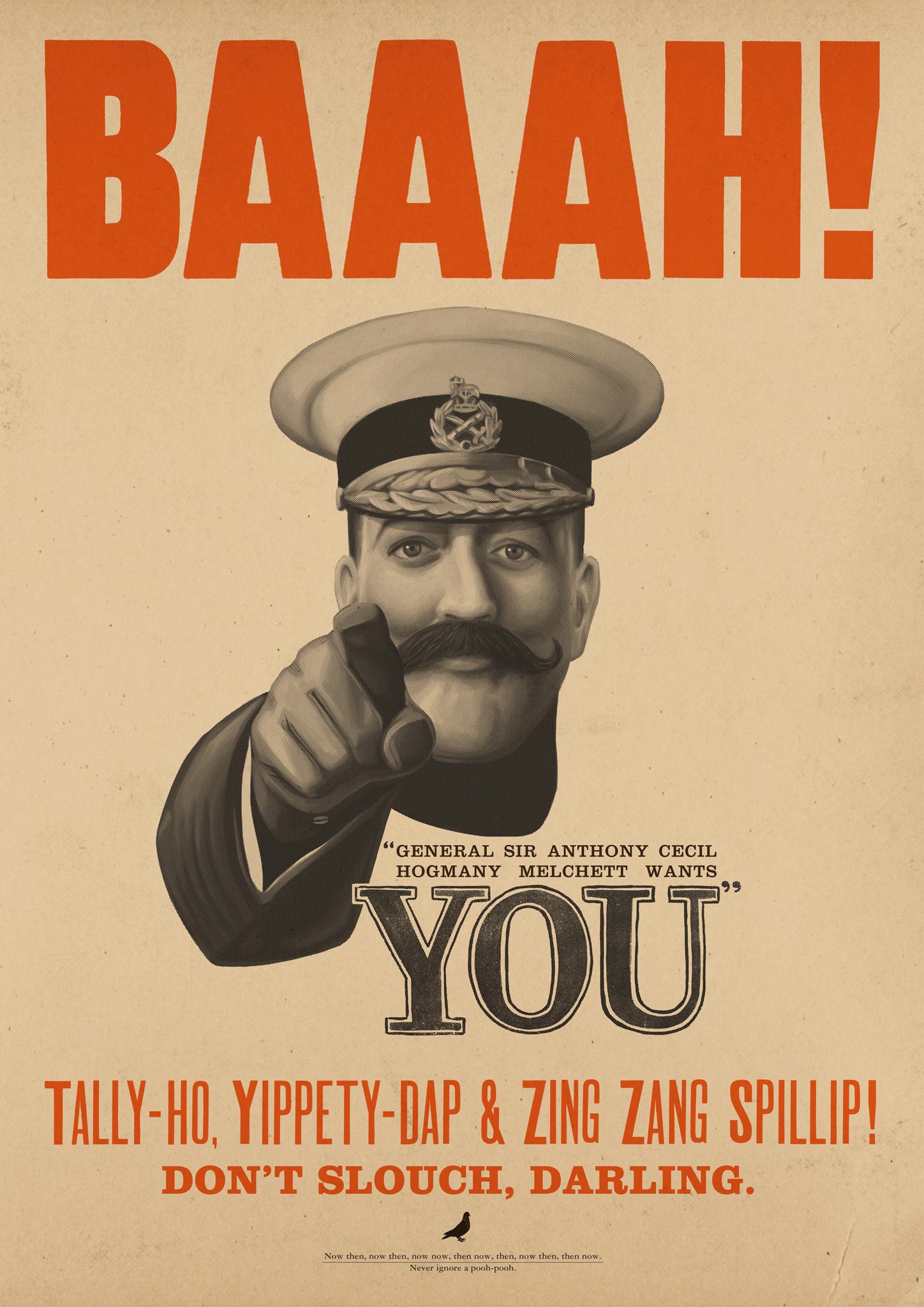 General Melchett Wants You!
