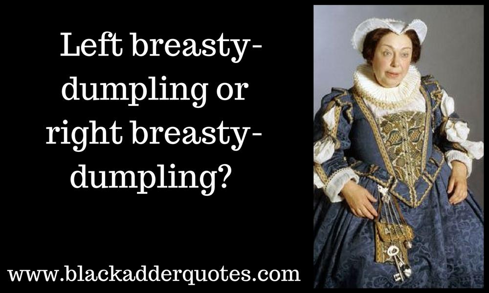 breasty dumplings