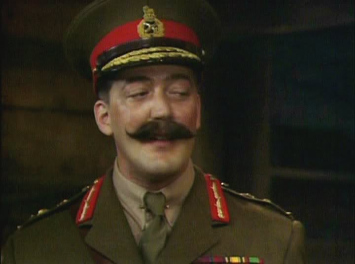 The military genius of General Melchett