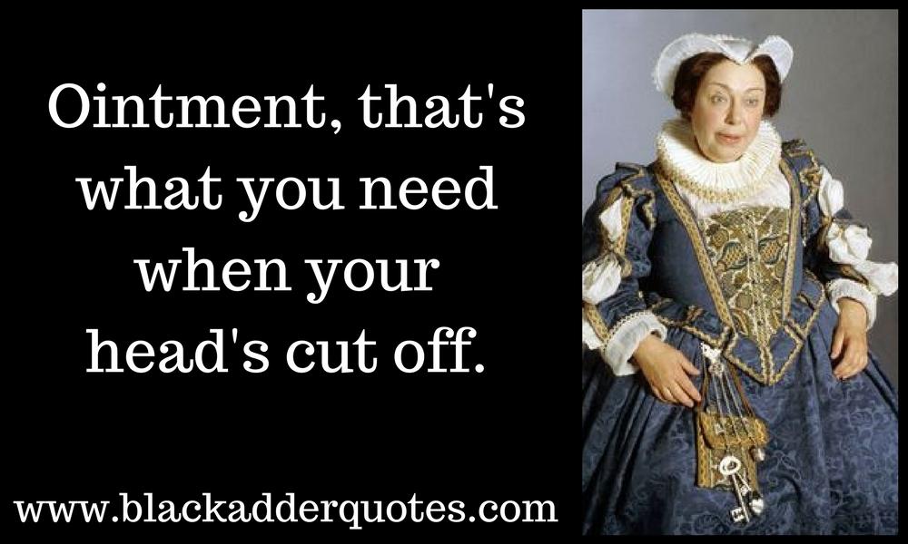 The best Nursie quotes from Blackadder